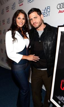 Jessika Grau and Edgar Ramirez at the AFI Fest 2007.